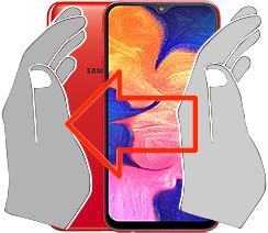 Captura de tela ou  Samsung Galaxy A10