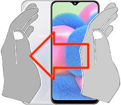 Captura de tela ou  Samsung Galaxy A30s