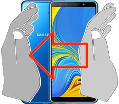Captura de tela ou  Samsung Galaxy A7 (2018)