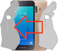 Captura de tela ou  Samsung Galaxy J2 Core