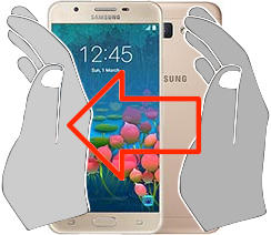 Captura de tela ou  Samsung Galaxy J5 Prime