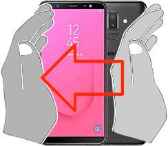 Captura de tela ou  Samsung Galaxy J8